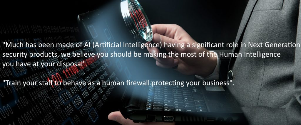 Cyber Awareness training The human firewall protecting your business